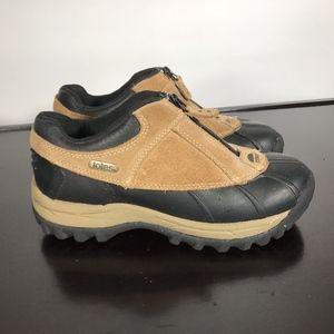TOTES women Rain/Snow Winter Duck Shoes Sz 8M